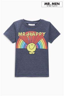 Mr Men™ Mr Happy Short Sleeve T-Shirt (3mths-6yrs)