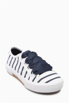 Lace-Up Trainers (Younger Girls)