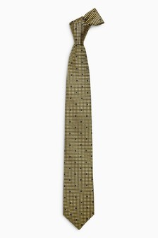 Signature Dot Pattern Tie