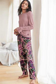 Jersey Long Sleeve Pyjamas