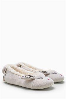 Bunny Character Ballerina Slippers