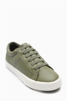 Leather Trainers (Older Boys)