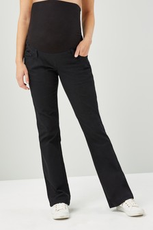 Maternity Over The Bump Boot Cut Jeans