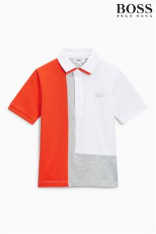 Boss Colourblock Poloshirt