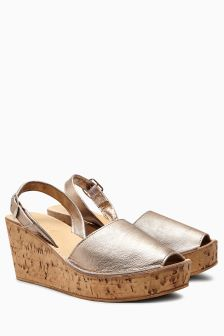 Two Part Cork Wedges