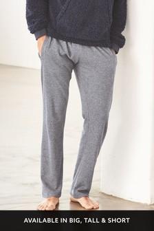 Спортивные штаны прямого кроя из мягкого трикотажа