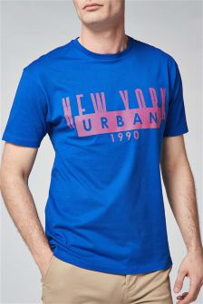 New York Urban Graphic T-Shirt