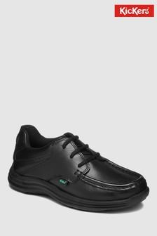 Kickers® Black Reason Lace Up Shoe