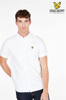 Koszula z krótkim rękawem Lyle & Scott Oxford