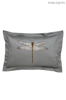 Harlequin Demoiselle Graphite Oxford Pillowcase