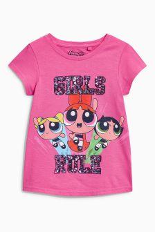 The Powerpuff Girls Print T-Shirt (3-16yrs)