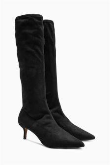 Knee High Sock Boots