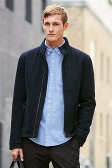 Wool Rich Harrington Jacket