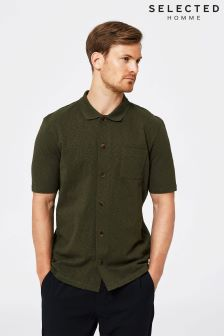 Selected Homme Full Button Polo