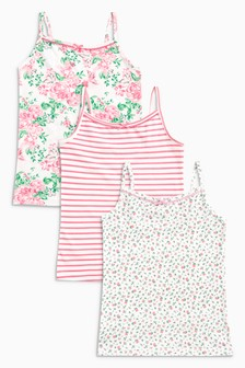 Floral Vests Three Pack (1.5-16yrs)