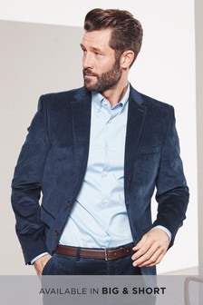 Cord Slim Fit Jacket