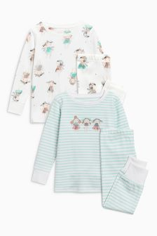 Fairy Snuggle Pyjamas Two Pack (9mths-8yrs)