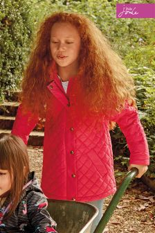 Joules Hooded Quilted Jacket