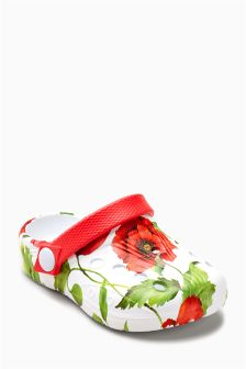 Floral Mules (Younger Girls)