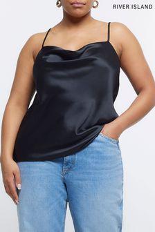 Szare, błyszczące, wsuwane buty do tańca Skechers®