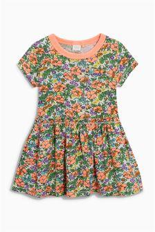 Short Sleeve Frill Dress (3mths-6yrs)