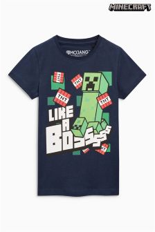 Minecraft Boss T-Shirt (4-14yrs)