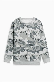 Oversized Crew Top (3-16yrs)