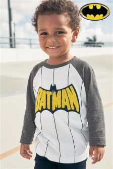 Three Quarter Sleeve Batman® Raglan (3mths-6yrs)