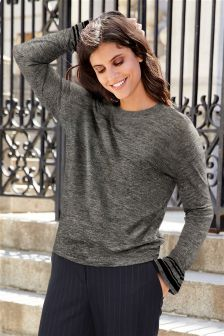 Knit Look Sweater