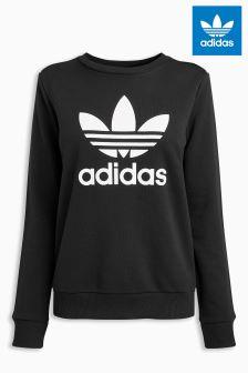 adidas Originals Black Crew Sweater