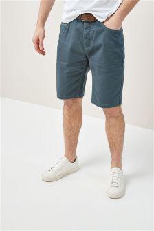 5 Pocket Belted Shorts