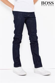 Hugo Boss Dark Wash Slim Fit Jean