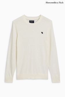 Abercrombie & Fitch Crew Neck Knitted Jumper