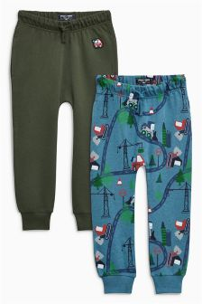 Digger Skinny Joggers Two Pack (3mths-6yrs)