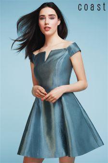 Coast Green Armelle Dress