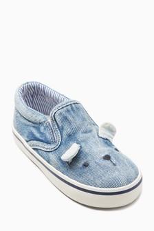 Print Bear Skate Shoes (Younger Girls)