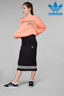 adidas Originals Black 3 Stripe Skirt