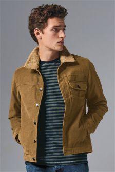 Куртка в стиле «вестерн» с вельветовой подкладкой