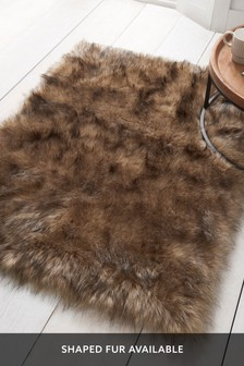 Luxury Faux Fur Rug