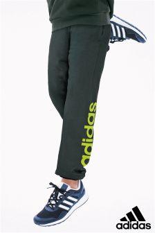 adidas Green/Slime Linear Logo Jogger