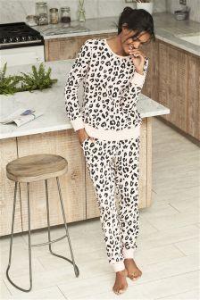 Print Cotton Pyjamas (Womens)