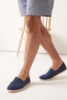Canvas A-Line Slip-On