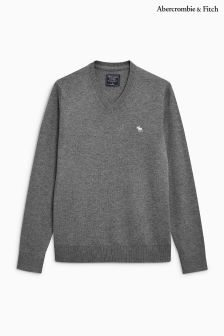 Abercrombie & Fitch V-Neck Knitted Jumper