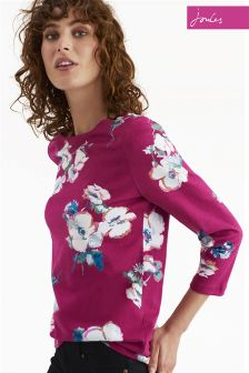 Joules Ruby Harbour Print Top