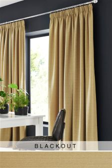 Textured Slub Studio* Curtains
