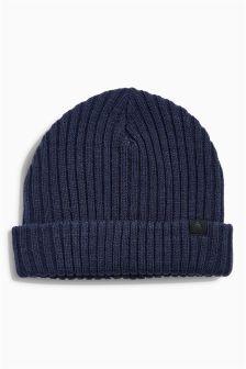 Rib Beanie Hat (Older Boys)