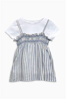 Stripe Cami And T-Shirt Set (3mths-6yrs)