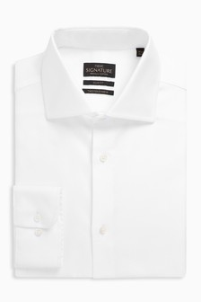 Signature Premium Fabric Slim Fit Shirt