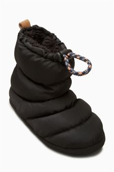 Quilted Slipper Boots (Older Boys)