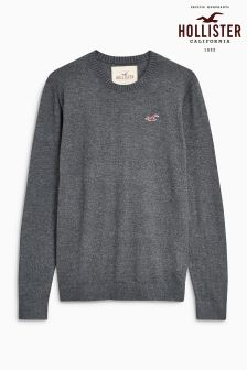 Hollister Crew Neck Knitted Jumper